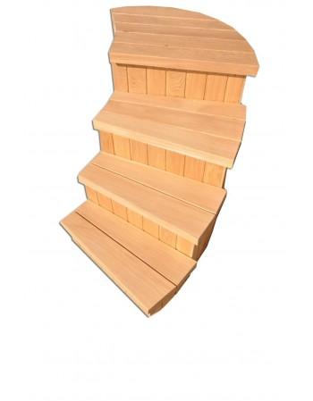 Treppe für Badefass Typ C