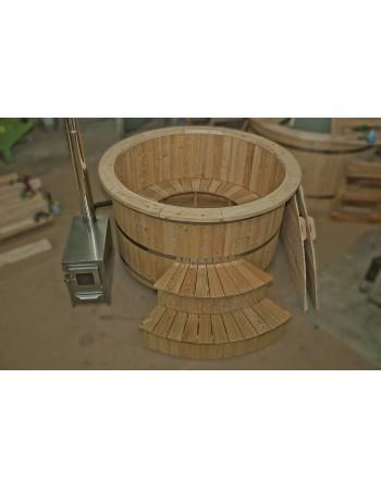 Badebottich aus Lärchenholz 180cm