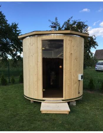 Fassform Sauna