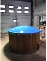 Badefass aus Blau Glasfaser 1,8 m