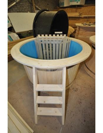 Hot Pott Blaukunststoff aus Tannenholz 160 cm