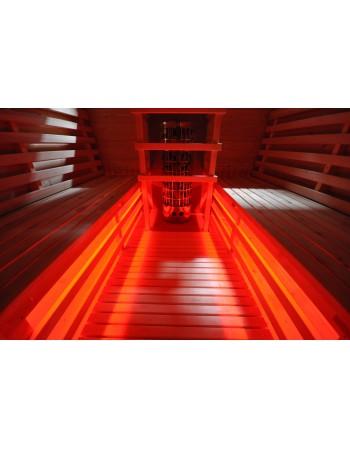 LED Beleuchtung für Saunen