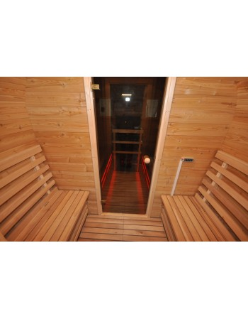 Wand Wärmedämmung (Sauna)